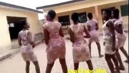 Beautiful And Sexy Ghana School Girls Twerking in Campus