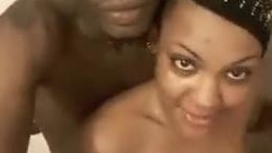 High School Graduate Aisha Shower Fun With Boyfriend